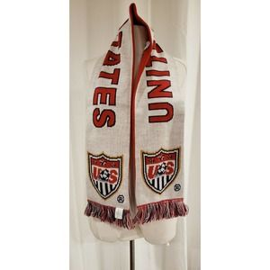 USA UNITED WE STAND  Scarf 2 Sided Sport NWOT Knit